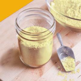 California Grown Organic Mung Bean Flour (Dry Roasted)