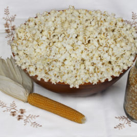 California Grown Organic Popcorn Kernels (Yellow)
